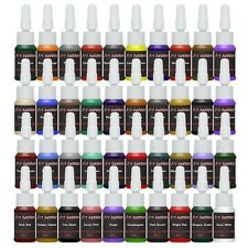 Tattoo Ink Tattoo Supplies 40 Color inks 5ml/bottle Complete Set Supply SQL125