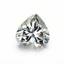 Heart Cut 11.97 x11.99 x 7.01mm 10.28 Cts E-F VVS Genuine Moissanite Loose Stone