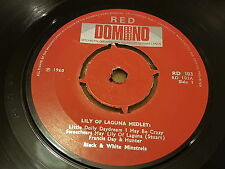 Black And White Minstrels, Little Dolly Daydream, 1971, RD 103, Red Domino, EX+