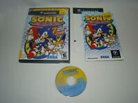 Nintendo GC Sonic Mega Collection game complete w/ case & manual, 2002 SEGA