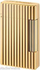 Dupont Feuerzeug Initial / Bronze vergoldet / Doppelflamme / 57 x 35 x 10 / 100g