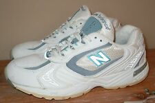 L@@K! WOMENS NEW BALANCE 655 WALKING SNEAKERS SHOES WHITE WWW655WB 8 39 USA $125