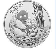 1 Unze Silber 2 Dollar Niue Panda with Cub Neuseeland 2017