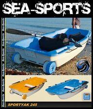 Bic Sportyak 245 Boot Ruderboot Orange-Weiss