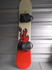 Lamar Diablo Jr. 138 Snowboard USED -