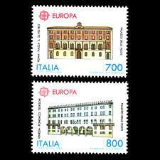 Italy 1990 - Europa Francobolli - Postale Uffici Architettura - Sc 1812/3 MNH
