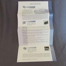 262C Franklin Mint Fold 1 Page Bentley Mark VI