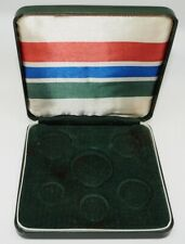 THE GAMBIA ORIGINAL 1966 PROOF SET CASE - NO COINS