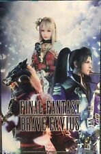 2018 sdcc FINAL FANTASY BRAVE EXVIUS Comic-Con POSTER - Square ENIX