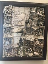 Harmony Kingdom Wimberly Tales complete 20 tiles box set with frame
