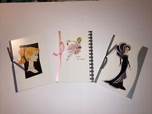 Lot of 3 Hallmark Vintage Barbie Doll Greeting Cards Without Envelopes