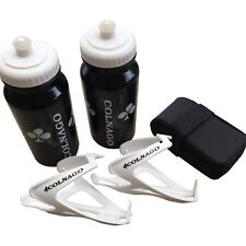 New Colnago Air Combo; Black Water Bottles and White Cages + Saddle Bag