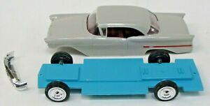 1957 OLDSMOBILE NINETY-EIGHT 2 DOOR HARDTOP model kit 1:25 project car rs