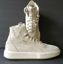 Puma Breaker Hi Evolution Men's Shoe-Whisper/ Off-White-Size 12 US