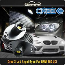 2x 40W CREE LED White Angel Eyes Lights Halo Ring Bulbs For BMW E90 LCI 20W/Bulb
