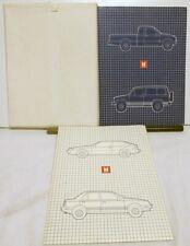 1986 Isuzu Cars and Trucks Press Kits Bundle - Impulse I-Mark Trooper Pickup