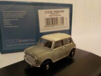 Classic Mini, Grey, Model Cars, Oxford Diecast 1/76