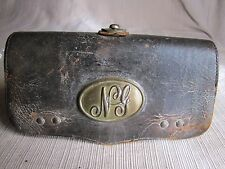 Indian Wars National Guard Leather Cartridge Box-Fraziers Patent 1872-McKenney