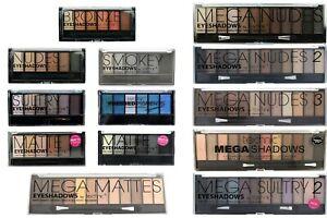 Technic Eyeshadow Palette Mega Nudes Smokey Bronze Matte Sultry Set Kit