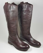 NEXT chestnut marrone in pelle al ginocchio Stivali UK 3 EU 36