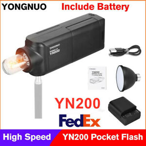YONGNUO YN200 TTL HSS 2.4G Pocket Flash Light Outdoor Speedlite For Camera DSLR