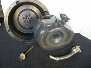 MERCEDES BENZ RESERVE CANISTER GAS SPARE TYRE TIRE JERRY CAN MB BELLINO SET !!