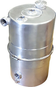 Dry sump oil tank - 10L - De-aeriation - Baffled - Easily cleanable
