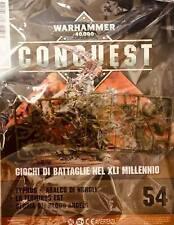 Warhammer 40000 Collezione Conquest n 54 Miniatura Typhus Aralco di Nergle