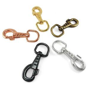 20 mm Heavy Duty Round Swivel Trigger Hooks Clips Dog Leads straps horse BFK