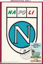 ITALIA MAXIMUM MAXI CARD NAPOLI CAMPIONE D'ITALIA 1987 ANNULLO TORINO B497