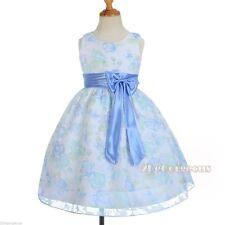Girls' Sleeveless Cotton Blend Knee Length Dresses (2-16 Years)