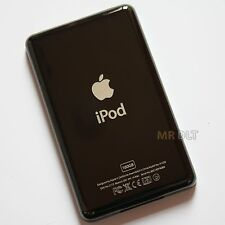 Custom BLACK 160GB Thin Back Housing For iPod Classic 7th Rear Cover Plate Panel