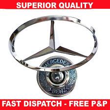 44mm Bonnet Hood Logo Emblem Badge For Mercedes Benz W124 W202 W203 W208 W210