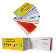 2x LEE Farbfolie / Blitzlichtfilter -- Musterheft Desiners Edition - Lichtfilter