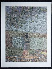 Anomyne Sansregret litho Rives signée main numérotée/50 Artprice pointillisme