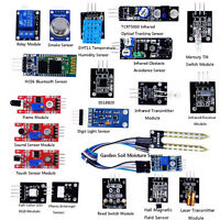 US Sensor Kit Modules Starter DIY for Arduino UNO R3 Mega2560 Nano Raspberry Pi