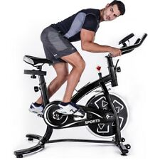 Stationary Exercise Bicycle Indoor Bike Cardio CyclingFitness 24lbs Flywheel NEW