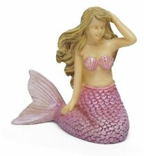 Mini Sitting Mermaid, Mini Mermaid, Fairy Garden Mermaid, Aquarium Mermaid