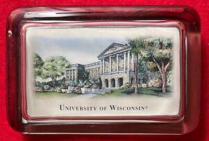 University of Wisconsin, Madison Paperweight - Bascom Hall - Beautiful Photo
