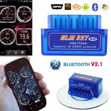 ELM327 OBD2 Bluetooth Car Diagnostic Fault Code Reader Clearer Scanner Tool