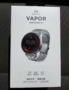 Misfit Vapor Smartwatch Activity+Sleep Tracker Stainless Steel Band 50m Water