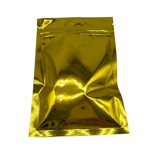 Gold Aluminum Foil Bag Food Storage Pouch