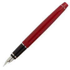 Pilot Falcon Collection Fountain Pen - Soft Flexible Nib - Red & Rhodium - EF