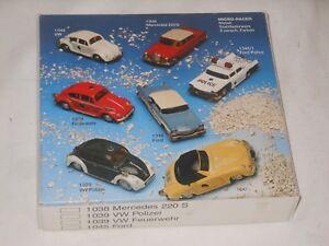 Schuco Nutz - Micro Racer - Set de Montaje VW Escarabajo 1039 - Embalaje