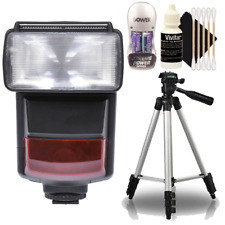 e-TTL Speedlite Flash with Top Accessory Bundle For Canon T6 , T6i , T7 and T7i