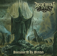 Discreation-procreation of the Wretched-CD-DEATH METAL