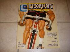 CYCLISME L'EXPLOIT n°1 07.1976 TOUR de FRANCE MERCKX POULIDOR THEVENET BOBET