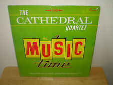 "THE CATHEDRAL QUARTET...""IT'S MUSIC TIME""......NEW SEALED RARE GOSPEL ALBUM"