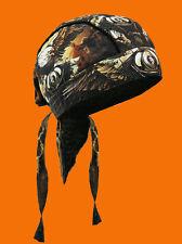 Eagle Clouds   Headwrap BIKER HEAD WRAP hat
