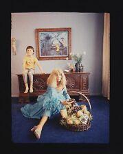 Original CHRISTIAN SKREIN Farbdiapositiv, Werbeaufnahme, 1970er Jahre, Mode